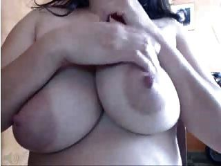 Webcams 2014 - Big Lactating Colombian Tits Part 2