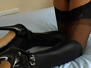 Sexy Black Latex