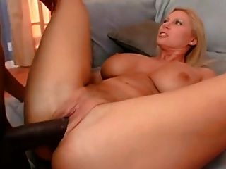 Busty Bubble Butt Blonde Milf Fucks Big Cock