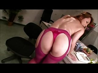 Chubby Japanese Milf Plays With Herself