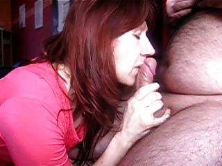 French Wife Cum In The Mouth