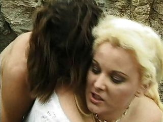 British Milf Kirstyn Halborg Gets Fucked On The Rocks