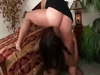 Two Ebony Girls Blowjob And Asslicking