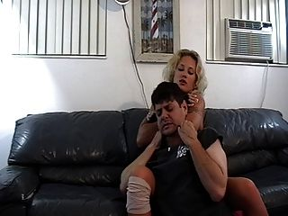 Domme Chokes Out Guy Multiple Times