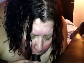 Fat Girl Sucks Black Cock