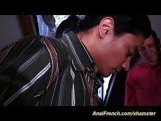 French Anal Gangbang