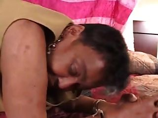 Dirty Ebony Grandma