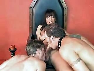 Shemale And Her Male Slaves