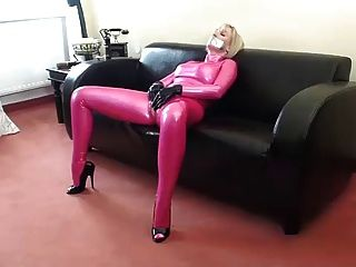 Rubbing My Pussy In Latex