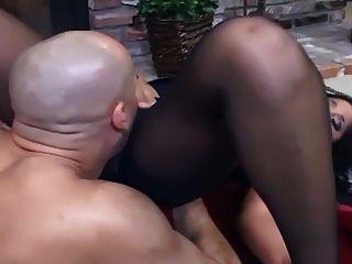 Fucking in pantyhose