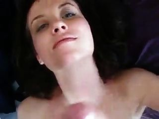 Cute Girlfriend Jacking My Cock For Cum