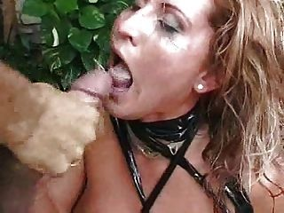 Nasty Dutch Slut Gets Splattered With Load Of Sticky Sperm