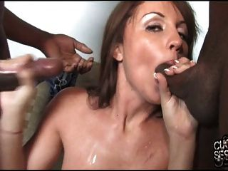 Young Cuckold Leads Wife To Get Fucked By Black Hood