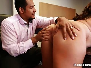 Busty Bbw Employee Is Fucked By Boss At Desk