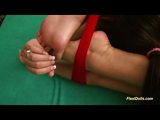 Real Flexi Doll Deep Gagging