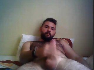 Masturbating Turkey-turkish Beefy Cub Jacks Off And Cums