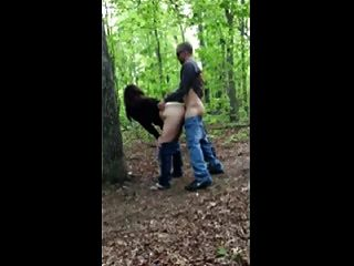 Hot Fuck #205 In The Forest With A Unfaithful Wife (cougar)