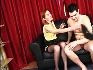 Simply Russian Mature Fucks Young Guy