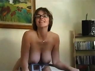 Mature Strips Plays And Sucks Cock