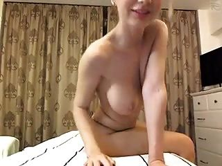 Light Haired Hottie Plays On Cam