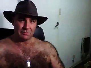 Hairy Men On Webcam