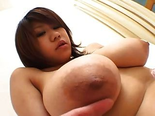 Young Asian Big  Tit Massage By Troc
