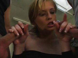 Jordan Hot Blond Double Penetrated