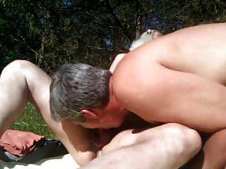 Coming Across A Nude Sunbather!