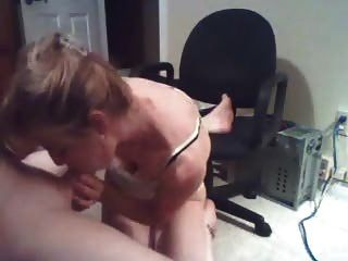 Wife Does A Great Blow On Webcam