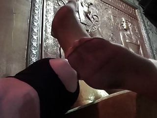 Nylon Foot Worship