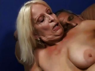 Fucking Hot Blonde Granny