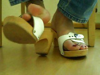 The Feet Of My Tranny Slave