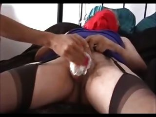 British Domme Shaves Her Sissy