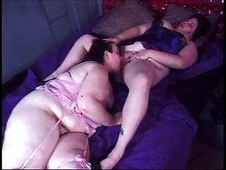 Lesbian Fatties Strapon Sex