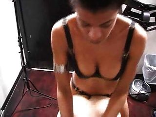 Ebony Mistress In Dungeon
