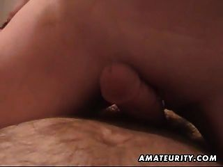 Chubby Amateur Girlfriend Sucks And Fucks With Cum