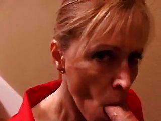 Mrs Moore - Home Blowjob