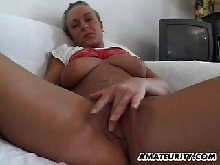 Amateur Teen Girlfriend With Big Boobs Sucks And Fucks