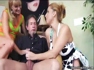 Hot Cougars Play With A Daddy