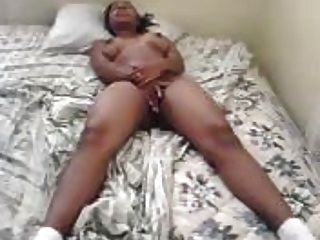 Ebony Chick Fingering Herself