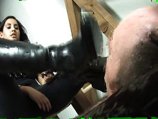 Boot Worship And Trampling