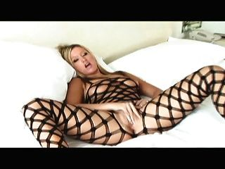 Masturbating In A Bodystocking