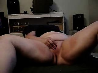 Bbw Girl On Her Bed