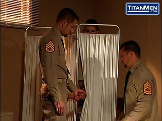 Naked Military Men Fuck On Titanmen