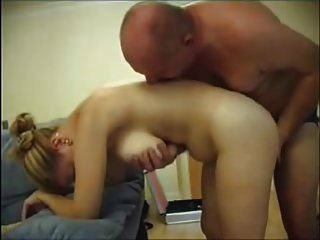 Blondie Big Boobs Fuck A Lucky Man