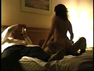 Watching Mature Wife Riding Friends Cock