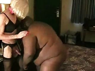 Tranny With Enormous Black Guy