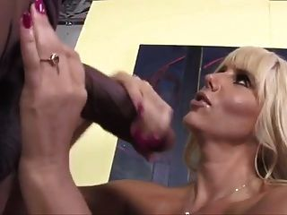 Mature Milf Karen Interracial Blowjob Rimjob Slut