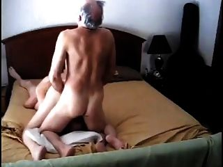 2 Experienced Old Men Fucking Milf