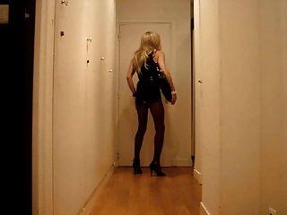 Cd Tv Ts Sissy Tranny Trav Pantyhose Slut - Ready To Go !